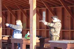 Rifle and Pistol range gets lots of activity